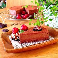 7bdb67e5.jpg - ♡混ぜるだけ♡とろける生チョコレアチーズ♡ : Mizuki