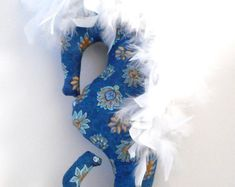 Nautical pillows, sea life plushies, novelty pillows by Fleeceofnature Nautical Baby Nursery, Nautical Bedroom, Nautical Pillows, Mermaid Bedroom, Light Blue Flowers, Mermaid Dolls, Beach Cottage Decor, Plush Animals, Gifts For Family