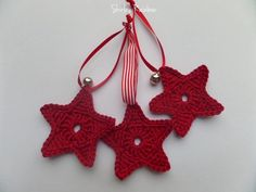 Crochet Star Christmas Tree Decoration  £5.00