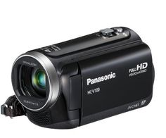 Panasonic V100 Full HD 1920 x 1080 Camcorder - Black (42x Intelligent Zoom, SD Card Recording, Power OIS, Face Recognition) 2.7 inch LCD -   SD Card Format 2.7 LCD Display Intelligent 42x Zoom iA (Intelligent Auto)  Intermediate HD Camcorder HC-V100 with lightweight  compact design, providing Intelligent 42x Zoom and 165 minutes recording time* Finding the Best Deals of the Day - http://unitedkingdom.bestgadgetdeals.net/panasonic-v100-full-hd-1920-x-1080-camcorde