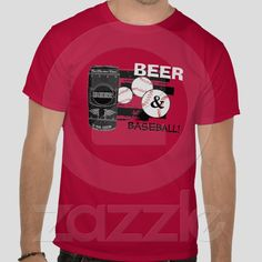 Beer & Baseball from Zazzle.com