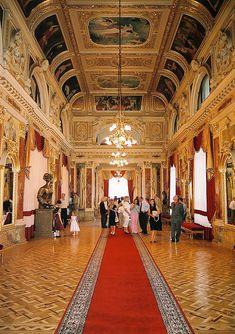 Lviv Theatre of Opera and Ballet, mirror hall, Ukraine