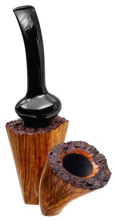 Todd Johnson Tobacco Pipes: Smooth Cantilevered Dublin Sitter (Phalanx-Q)
