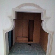 Arch Designs For Hall, Shelves, Mirror, Furniture, Home Decor, Shelving, Decoration Home, Room Decor, Mirrors