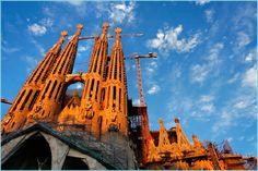 Barcelona, Spain  Sagrada Familia