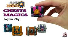 Chests Magics | Clash Royale | Polymer Clay Tutorial