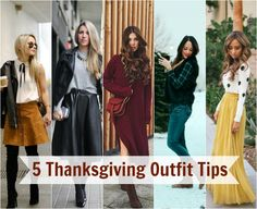5 Thanksgiving outfit ideas and tips!