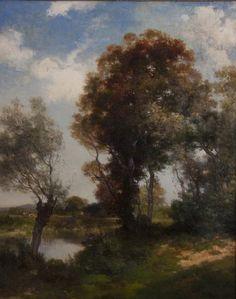 Thomas Moran. Oil.