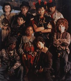 Lost Boys from Steven Spielberg's 1991 film 'Hook'.