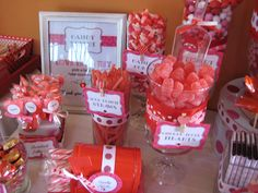 Christmas Candy Buffet Ideas | Mission complete! Valentine Candy Buffet — Hello, Cuteness!