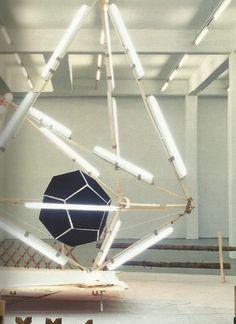 Light Installation by Björn Dahlem