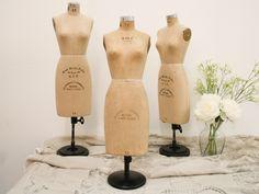 Vintage Women's Half-Scale Wolf Dress Form Size 12 by XidletimeX Vintage Mannequin, Dress Form Mannequin, Triangle Shape, Jewellery Display, Vintage Designs, Sewing Crafts, Designer Dresses, Vintage Dresses, Vintage Ladies