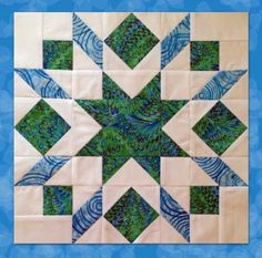 Good day Quilters!     Welcome to my stop on the Inspired by Fabric  Star Sampler Blog Hop sponsored by   Fabri-Quilt.  When contacte...