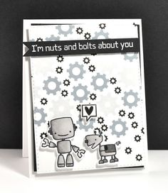 K and R Designs: Nuts And Bolts About You {Paper Smooches}
