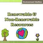This Power Point presentation uses links to relevant and engaging videos, visuals and text to explain renewable and non-renewable resources. It fur...