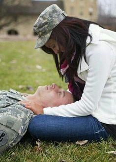 Gorgeous interracial military couple #love #wmbw #bwwm