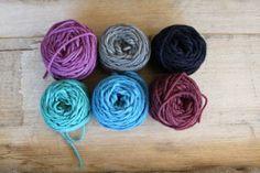 Harvest Wool - Sample Pack - Winter Colours