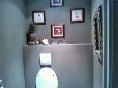 Wc decoratie op pinterest toiletten toilet beneden en toiletbrillen - Kleur wc deco ...