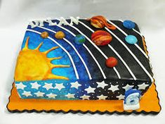 Image result for edible solar system project