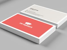 Tiny Mammoth – Business Cards