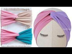 Learn how to make twist turban headband with this twisted headband sewing pattern. It's best to make criss cross turban tutorial with knit and stretch fabric. Turban Headband Tutorial, Twist Headband, Headband Pattern, Knot Headband, Sewing Headbands, Fabric Headbands, Turban Headbands, Flower Headbands, Turban Hat