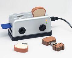 Amazon.com: Smoko Toaster USB Hub - Silver: Computers & Accessories