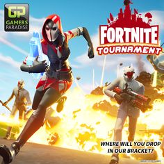 Join us on April at p.m in River Vale or April at p. in Rochelle Park for one of our monthly Fortnite Battle Royale Tournaments! Build your way to the top of the bracket to win some excellent loot! Video Game Tournaments, Rochelle Park, Madden Nfl, Mario Kart, Play To Learn, Super Smash Bros, Mortal Kombat, Boy Scouts, Special Events