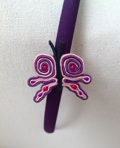 Cerchietto in soutache  Facebook.com/amanoecreations