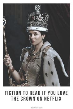 Love THE CROWN on Netflix? Then you'll want to pick up these fiction titles. I Love Books, Great Books, Books To Read, Big Books, Reading Lists, Book Lists, The Crown 2016, Movies Worth Watching, Reading Material