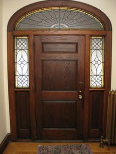 Beautiful Original Door.  House for Sale.  Bordentown NJ