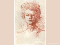 Portrait of Jane Avril , Toulouse-Lautrec Henri Wallpapers