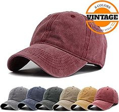 2997d14b5a5158 Baseball Cap Adjustable, C-burgundy, One Size. Candy's Cupboard · Tip your  hat