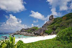 Similan island off the coast of Thailand.