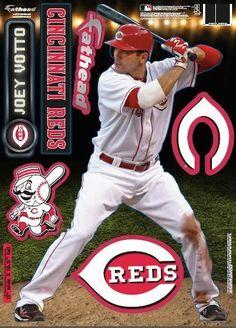 Cincinnati Reds Joey Votto 2013 Fathead Teammate Case Pack 6