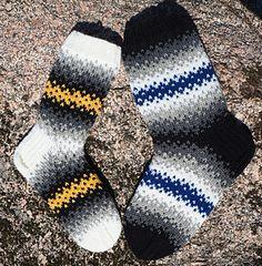 Woolen Socks, Knitting Socks, Ravelry, Knit Crochet, Diy Crafts, Crocheting, Pattern, English, Color