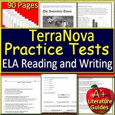 18 Best TerraNova Terra Nova Test Prep Resources images in 2018