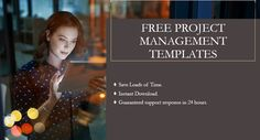 Download professionally designed free project management templates in commonly used Microsoft Office programs like Word, Excel, PPT and Visio. Download, customize, and send in minutes #projectmanagement Capacity Planning, Microsoft Office Programs, Project Management Templates, Life Savers, Free Design, How To Plan, Words, Projects