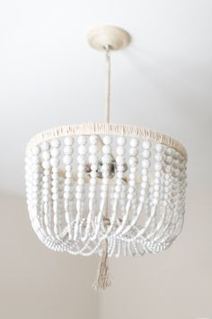 Beaded chandelier: http://www.stylemepretty.com/living/2016/03/08/12-ways-to-make-your-home-feel-like-a-vacation-getaway/