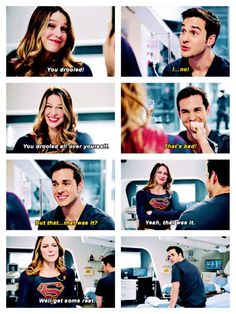 Oh Mon-El<<< he wanted her to say it, to see if she regretted it!!!!! And she failed.