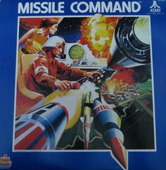 Missile Command Record,1982 on Kid Stuff records.