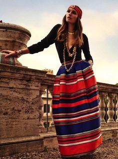 Stripes (Vogue Brazil April 2014)
