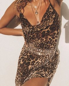 WILD THING 🐆 We re officially leopard print obsessed 🙏 Simba Leopard Maxi  Dress + 79b3a7834