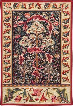 Acanthus tapestry - William Morris tapestries. #morris #design