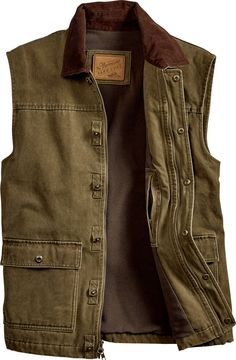 Orton Brothers Vermont Barn Vest for Men Casual Outfits, Men Casual, Fashion Outfits, Denim Jacket Men, Leather Jacket, John Rambo, Tactical Clothing, Twill Shirt, Men Wear