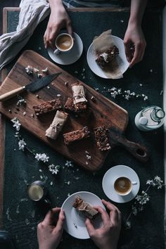 our food stories // gluten free hazelnut-coffee granola bars
