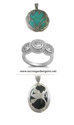 Sterling SIlver #Jewelry from Bali www.secretgardengems.net