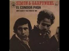 Simon & Garfunkel : El Condor Pasa Id rather be a sparrow than a snail / Yes, I would if I could, I surely would / Id rather be a hammer than a nail / Yes, I would if I only could, I surely would Simon Garfunkel, Jazz, 70s Music, Rock Music, Pop Rock, Rock And Roll, Karel Gott, Musica Pop, Easy Listening