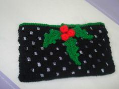 Crochet Holly and Berries - Tutorial ❥ 4U // hf