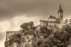 Rocamadour by Louis-photos Rocamadour France, Notre Dame, Monument Valley, Photos, Explore, Architecture, Castles, Nature, Travel