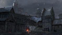 Medieval Dark Fantasy City 2